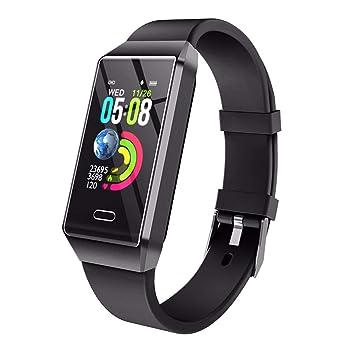 Reloj Inteligente para Mujer Hombre Niños, Pulsera Actividad con ...