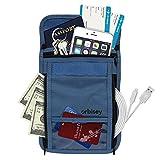 Orbisey Neck Wallet Travel Lightweight Pouch Stash
