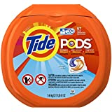 Tide PODS Ocean Mist HE Turbo Laundry Detergent Pacs 57-load Tub