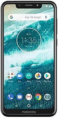 Motorola one 4G LTE Cat 6 (XT1941-4) 4GB / 64GB 5.9-inches Dual SIM Factory Unlocked - International Stock No Warranty