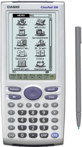 CASIO Touch-Screen Graphing Calculator - CLASSPAD330 by Casio