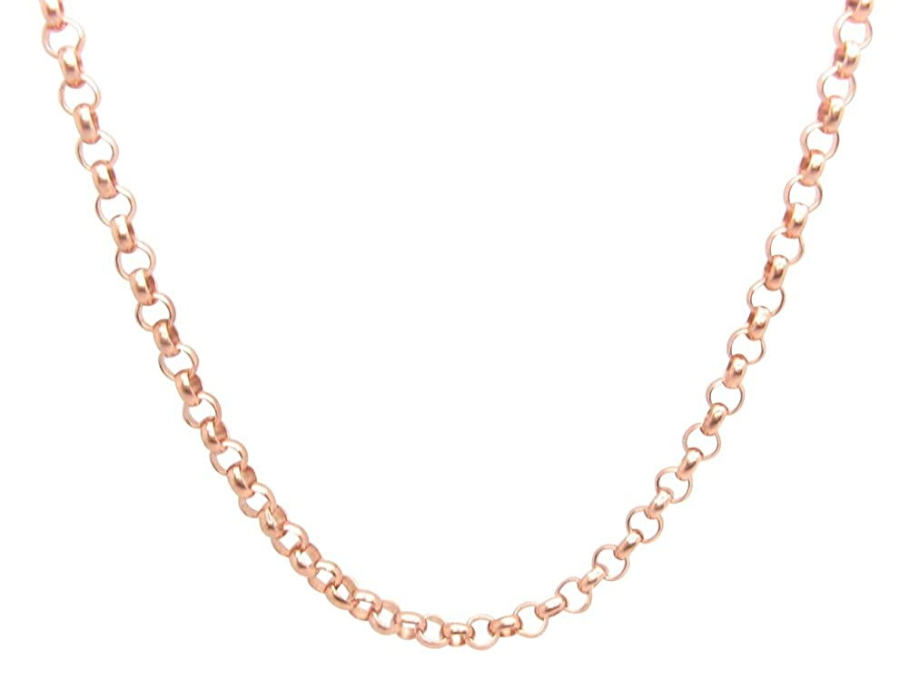Copper Chain CN606G $26 to $34. Available in 16 to 30 inch lengths 3//16 wide