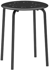 IKEA. Marius Stool, Black 101.356.59