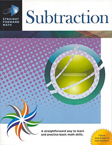 Subtraction (GP012) (Straight Forward Math Series)