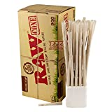 4 x 900 Raw 1 1/4 Organic Prerolled Cones (4 boxes) includes TSC Sticker