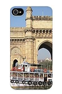 Ellent Design Mumbai Phone Case For Iphone 4/4s Premium Tpu Case For Thanksgiving Day's Gift