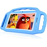 [Upgraded] 7 Inch Kids Tablet PC, Andriod 7.1 Tablet with 1GB RAM 8GB ROM, WiFi, Bluetooth, Dual Camera, Kids Software iWawa Pre-Installed-Blue