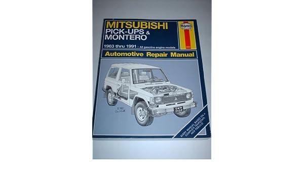 Mitsubishi Pick-ups & Montero 1983 Thru 1991 (Automotive Repair Manual) by Larry Warren (1992-05-04): Amazon.com: Books