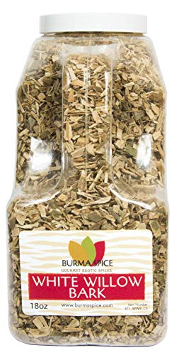 White Willow Bark   100% Natural   Herbal Tea   Natural Pain Reliever   Kosher Certified   (18 oz.)