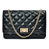 quilted small wallet - Quilted Crossbody Bag, Shoulder Handbags Purses for Women Girls Small Crossbody Wallet Adjustable Metal Chain