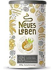Neues Leben | Schwarzes Detox-Elixier | Formel mit Aktivkohle, Matcha, Aloe Vera, tonischen Vitalpilzen | 600 Gramm