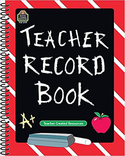 teacher record book teacher created resources staff teacher