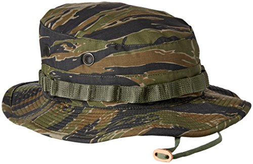 - Propper 60C/40P Boonie, 7 1/2, Tiger Stripe