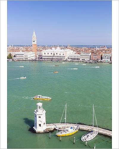 Amazon.com: 10x8 Print of Campanile tower, Palazzo Ducale (Doges ...