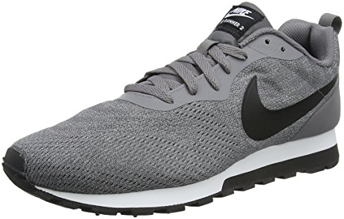 2 Running Eng 003 gun black vast white Smoke Gris De Nike Chaussures Grey Runner Homme Mesh Md awqvEt0