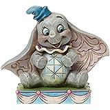 "Jim Shore for Enesco Disney Traditions Dumbo Figurine, 3.25"""