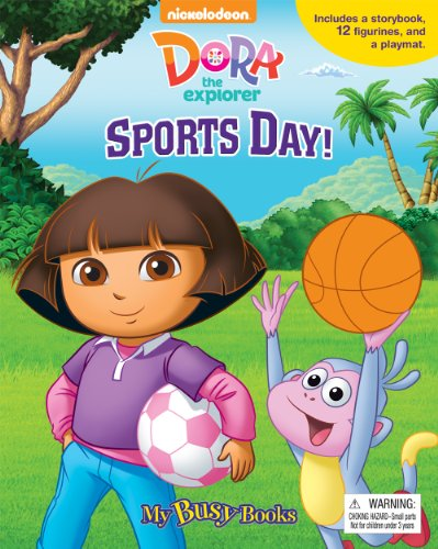 Dora the Explorer Sports Day! My Busy