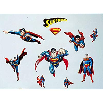 Assemble Peel and Stick Decal Stickers for Wall, Luggage and More. Super Hero: Arts, Crafts & Sewing