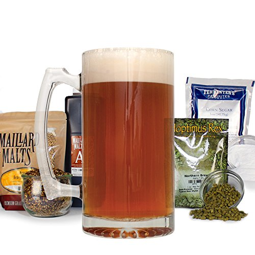 German Alt With Specialty Grains Homebrew Beer Making Recipe Kit - 5 Gallons Malt Extract Amber Ale Ingredients