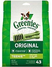 GREENIES Original TEENIE Natural Dental Care Dog Treats, (43 Treats) 12oz. Pack