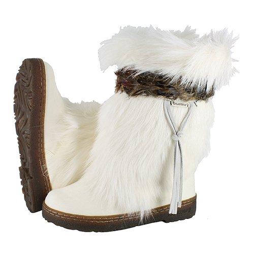 BEARPAW KOLA II 2 10' BOOT WHITE/BROWN...