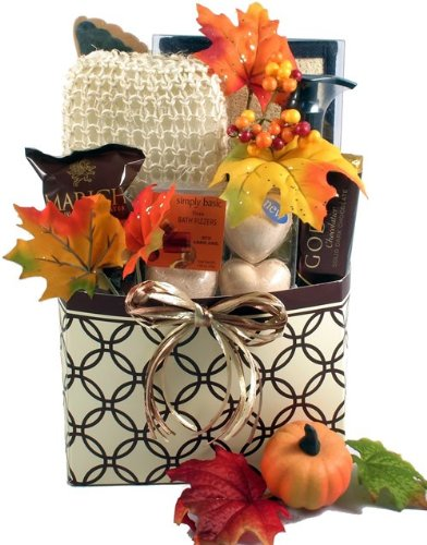 Autumn InSPArations For Her, Fall Spa Gift Basket For Women