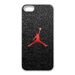 Jordan logo iPhone 4 4s Cell Phone Case White Delicate gift AVS_558055
