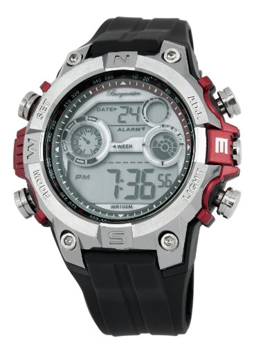 Burgmeister Men's BM800-112A Digital Power Alarm Chronograph Watch