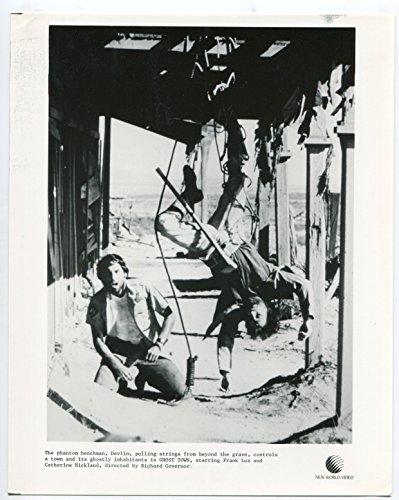 Silver screen PHOTO: Ghost Town-Jimmie F. Skaggs- Franc Luz-8x10-B&W-Still-NM