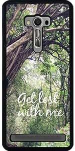 Funda para Asus Zenfone Selfie (ZD551KL) - Perderse En El Bosque by Tara Yarte Photography & Design