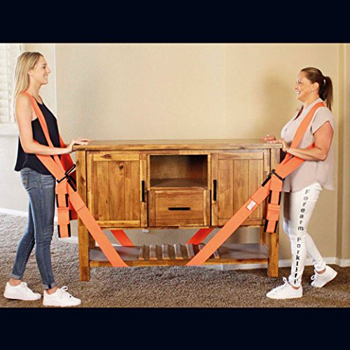 Forearm Forklift Harness, Complete Set, Pack of 2 | 2 Person Moving System | Lift furnishings Easily | Rated up to 800 lbs. by Forearm Forklift (Image #6)