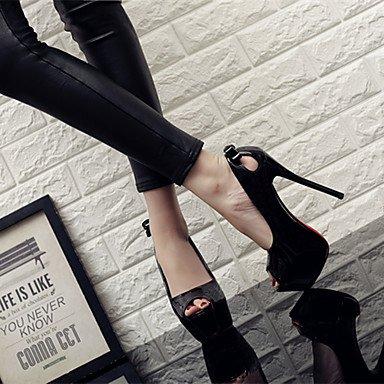 PU Noche Mujer Zapatos club Stiletto Tacones Tacón del Fiesta y Boda AIURBAG gPFxq6CBFw