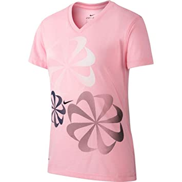 co Outdoors Fit uk Shirt Dri T Sports Girls' Nike Amazon amp; SCqPx6YYw