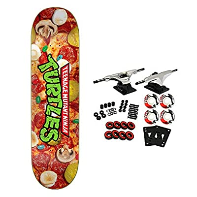 Santa Cruz Skateboard Complete Teenage Mutant Ninja Turtles Pizza Dude Everslick : Sports & Outdoors