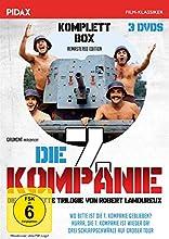 Die 7. Kompanie-Komplettbox / Die komplette 3-teilige Kult-Spielfilmreihe (Pidax Film-Klassiker) [Alemania] [DVD]