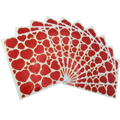 Red Heart Decorative Stickers 10 sheets (A101) by - Target State Street