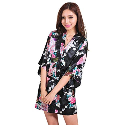 Yidarton Womens Fashion Peacock Kimono product image