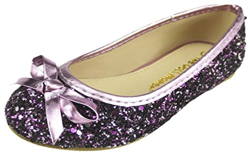 The Doll Maker Glitter Ballet Flat-TD171001A-8 -