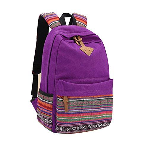 Casual Canvas Fashion Shool Backpack