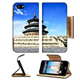 imperial armband iphone 5 - Luxlady Premium Apple iPhone 5 iphone 5S Flip Pu Leather Wallet Case iPhone5 IMAGE ID: 25832745 temple of heaven with blue sky Beijing China