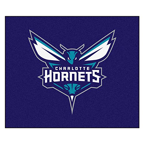 FANMATS 19429 NBA - Charlotte Hornets Tailgater Rug , Team Color, 59.5''x71'' by Fanmats