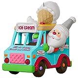 Hallmark Keepsake 2017 Santa's Sweet Surprise Ice Cream Truck Light and Music Christmas Ornament