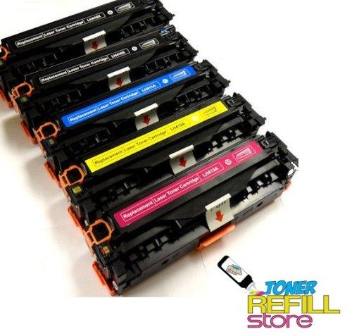 Toner Refill Store™ 5PK Compatible Canon CRG-131 / Canon ...