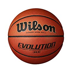 When you focus on getting better, and not just on getting results, success takes care of itself. That is why the Wilson Evolution Game Ball is the preferred basketball in high schools across the country. Every part from the moisture-wicking c...