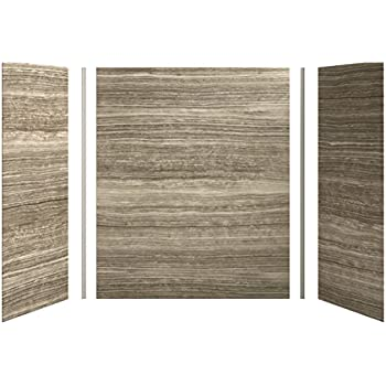 Sterling 61034100-0 Advantage Bath and Shower Wall Set Only White ...