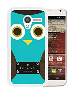 Personalized Design With Kate Spade 155 White Motorola Moto X Protective Cover Case