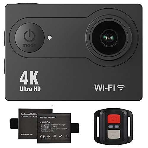 360 Degree VR Camera, Banne Wifi UHD 2.7K/25FPS, 1080P/30FPS, 360°Wide Angle Lens Wireless Sports...