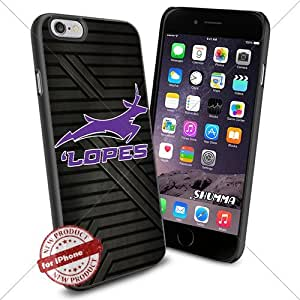 """NCAA-Grand Canyon Antelopes,iPhone 6 4.7"""" Case Cover Protector for iPhone 6 TPU Rubber Case Black"""