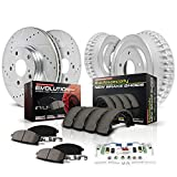 Power Stop K15263DK Front & Rear Brake Kit with
