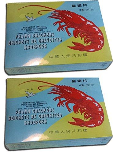 Shrimp Chips Prawn Crackers 2 boxes of 8oz (227g) each